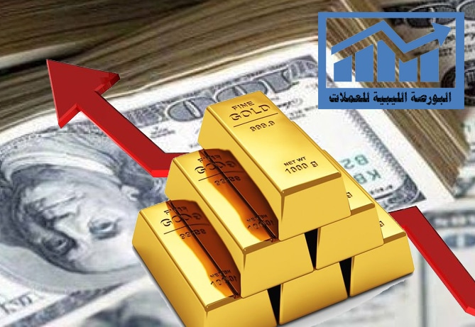 أسعار الذهب ترتفع لاول مرة